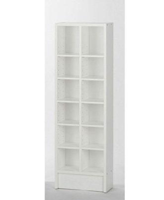 Biblioteca Modelo Section TV48069 Color blanco