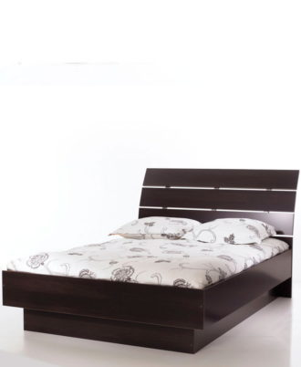 Cama Modelo Naia Tv76205 Color Café Fumaya