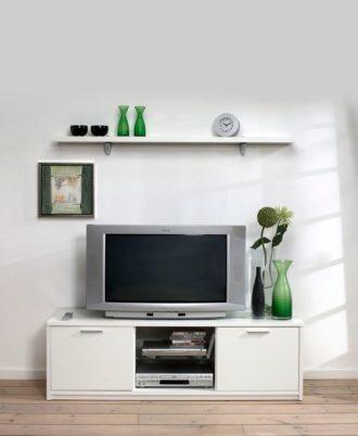 Rack Modelo Viiwa Tv7950061 Color Blanco Fumaya