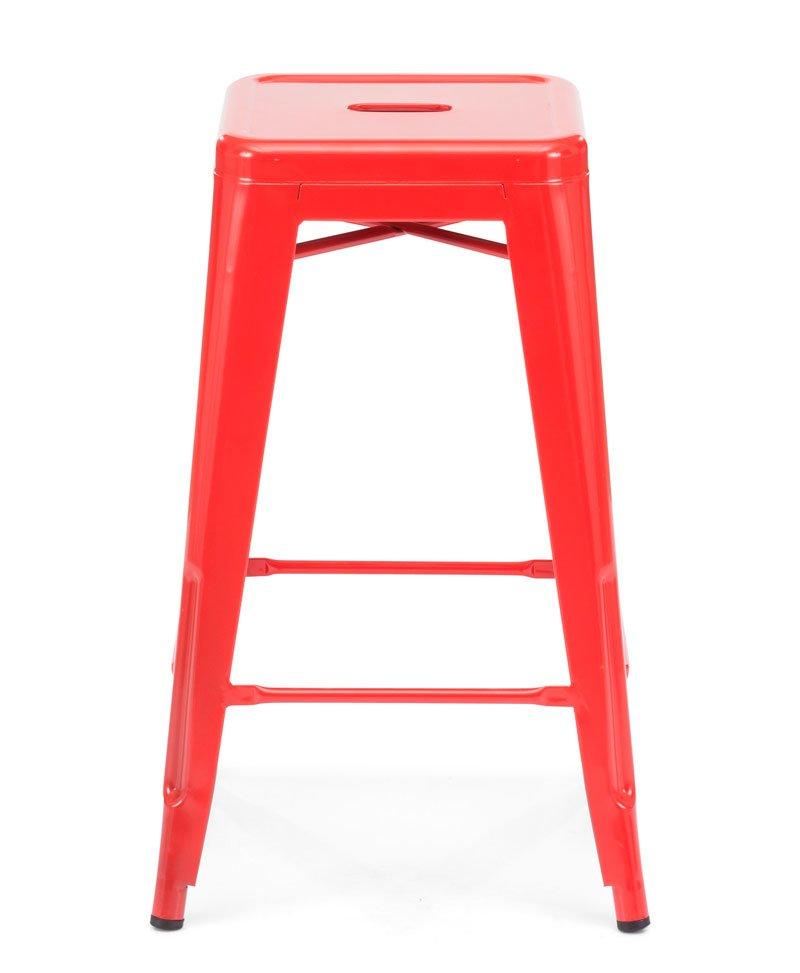 Taburete Modelo Marius ZU106109 Color rojo | Fumaya S.A