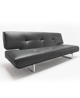 Sillón Modelo Splender IN742013 Color simil cuero negro