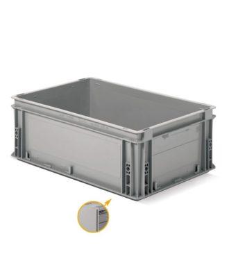 Almacenamiento contenedor resistente Anthena 600x400x220 mm