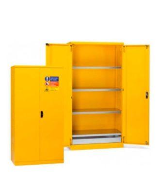 Armario metálico para almacenamiento de pinturas y solventes