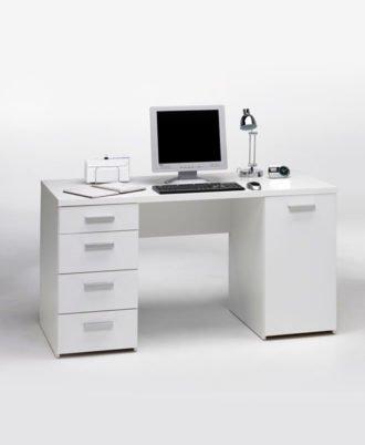 Escritorio Modelo Capri Color blanco