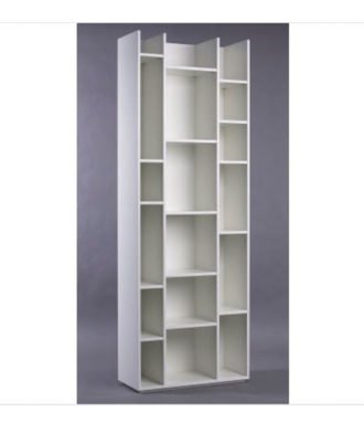 Biblioteca Modelo Section TV71623 Color negro veteado