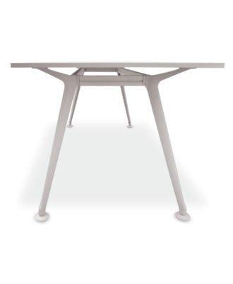 Escritorio – mesa de pc oficina 180 x 80 cm con base metálica