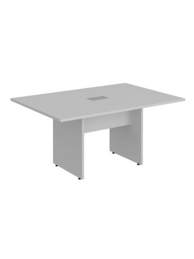 LEXUS. Mesa de reuniones de 160×110 y 1 caja