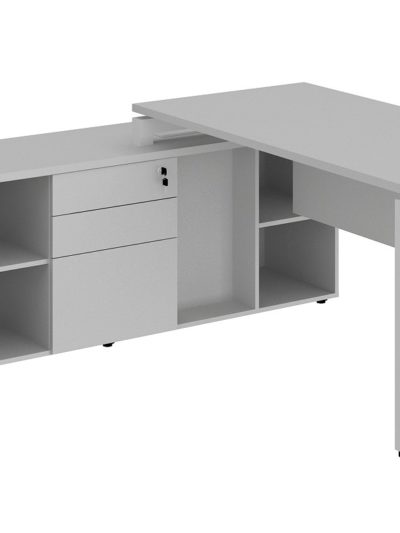 LEXUS. Mesa director de 170 con armario