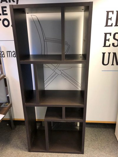 Biblioteca abierta vertical